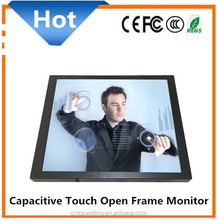 10 Points Capacitive 17 inch Touch Screen Monitor Open Frame for Embedded System