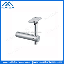 Indoor stainless steel staircase handrail fittings wall mounting bracket