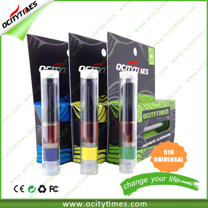 Ocitytimes machine for disposable vaporizer filling ce3 clearomizer custom vape cartridge packaging for cbd atomizer