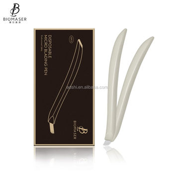 Biomaser Disposable Curved microblading blade handtools