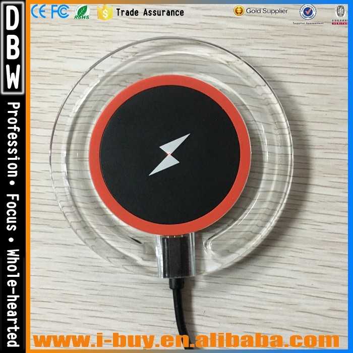 2017 new product universal qi wireless charger receiver card for huawei and Iphone6 plus