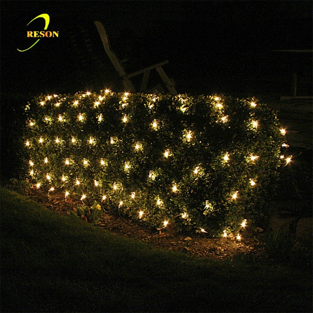 Garden decoration waterproof net christmas lights led net lights for bushes