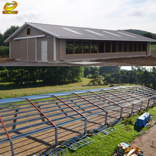 Low Cost Cheap Prefab Steel Structure Chicken Poultry House