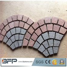 G654 Natural Granite Cobble Stone for Outdoor Paving