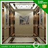 China supplier 304 mirror etched decorative stainless steel elevator door