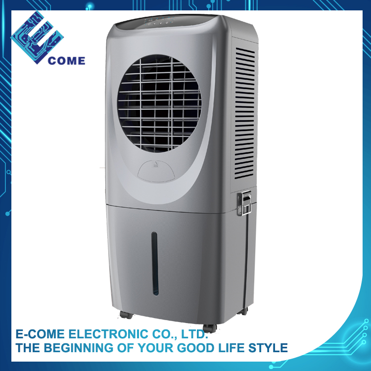 Black 3 speeds portable swamp evaporative air cooler conditioner
