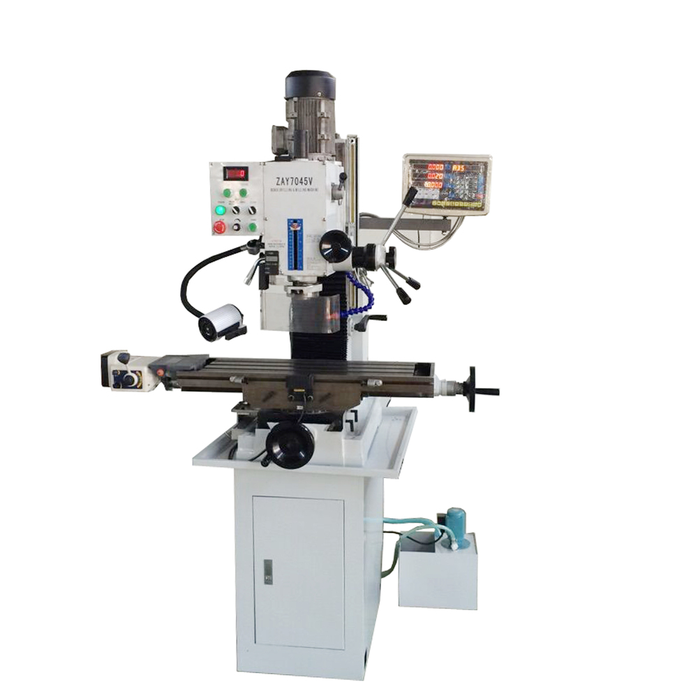 Top Sale Variable Speed Bench Type Mill Machinery 45mm 7045v Drilling And Milling Machine With