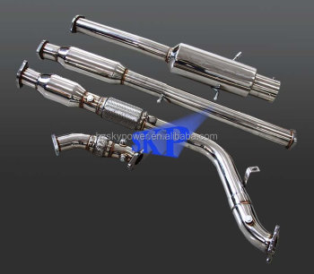 Exhaust Pipe of Catback for S*B*R* WRX 02-06