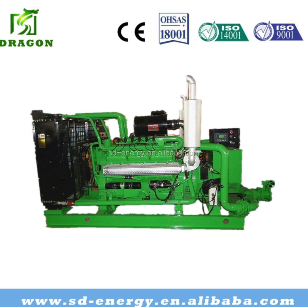 125kva 100kw Natural Gas cabinet Generator Fuel Consumption