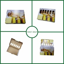 WHOLESALE CUSTOM COLOR BOTTLE WINE BOX WITH WINDOW