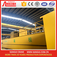 Warehouse Workshop Overhead Crane harga hoist crane 5 ton