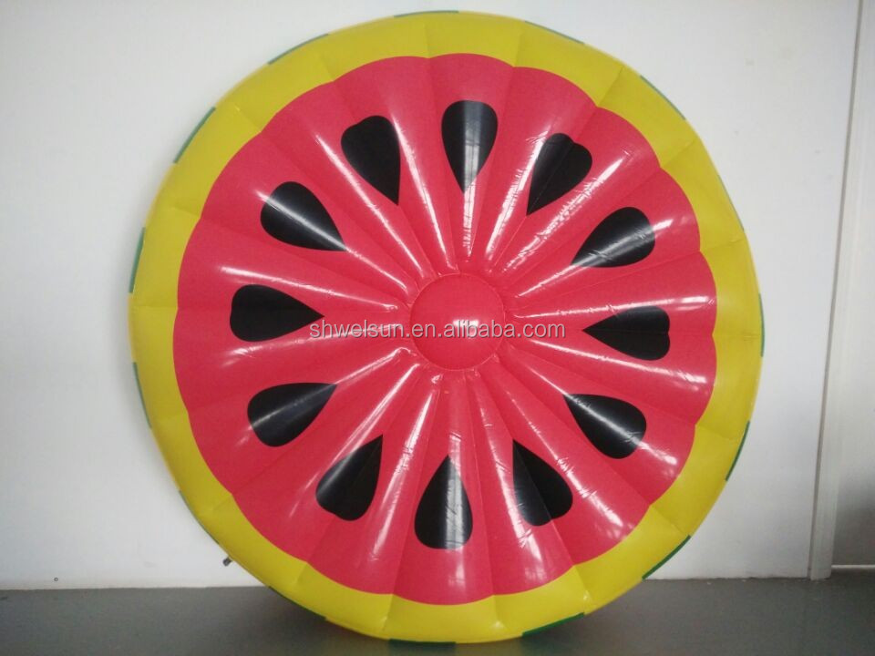 New design inflatable Watermelon summer pool float/lounge