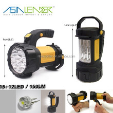 BT-4898 Powered by 3*AA Battery Adjustable Handheld LED Spotlights