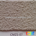 CMZS-07 Multi color acrylic resin waterproof natural stone texture paint for exterior wall