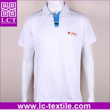 lastest design custom silk screen printed 100% heavy cotton Reflective safety polo shirt with decorative shoulder line(LCTT0332)