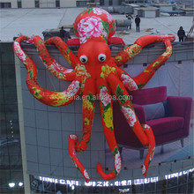 Chinese style Hanging Giant inflatable Octopus