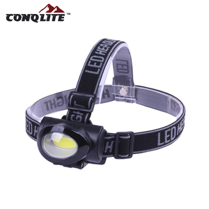 110 LM High-Low-Strobe 3Watt COB LED Head Lamp/light