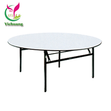 Wholesale 12 seater round banquet tables and chairs foshan YCX-T01