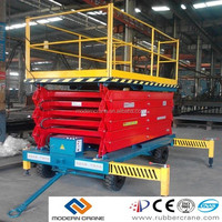 12m max height truck mounted hydraulic lifting platform