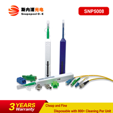 One Click Fiber Cleaner for 1.25/2.5mm Fiber Optic Connector and Adapter