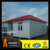 mini modern prefab house with four side slope roof for sale