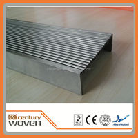 long 304 stainless steel floor drain / outdoor floor drain cover