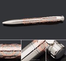 Salable Excellent Design Custom Logo Metal Engraving Ball Pen