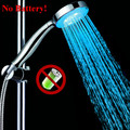 LED light Single color changing best shower head