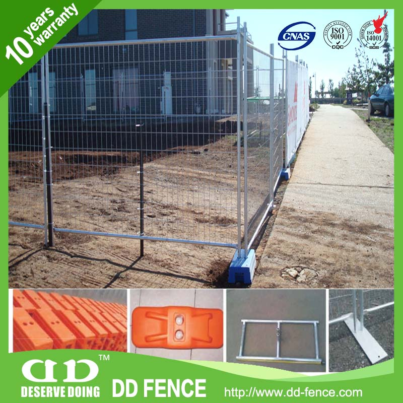 ISO9001 certified temp fence sales /temp fencing for dogs/ temp fence for dogs from China (factory) DD-FENCE