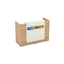 white office wood counter office front counter design standing reception desk
