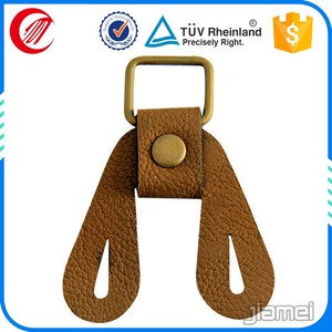 OEM / ODM high quality leather jacket metal zipper puller