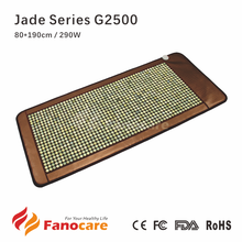 Fanocare ceragem style bio far infrared negative ion thermal therapy korea health jade stone heating mattress