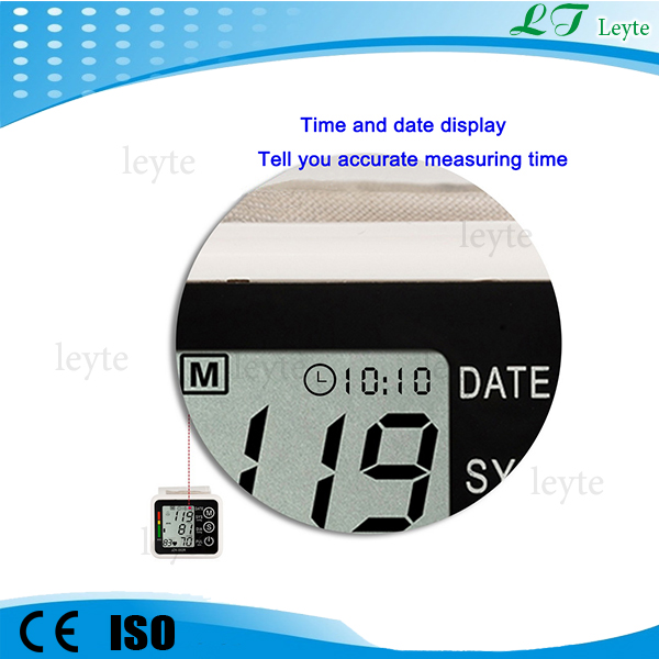 JZK-002A hospital medical electronic wrist blood pressure monitor