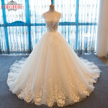Online Wholesale Wedding Dresses With Long Trains For Bride