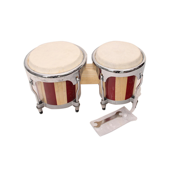 names of musical instruments wooden bongo drum set