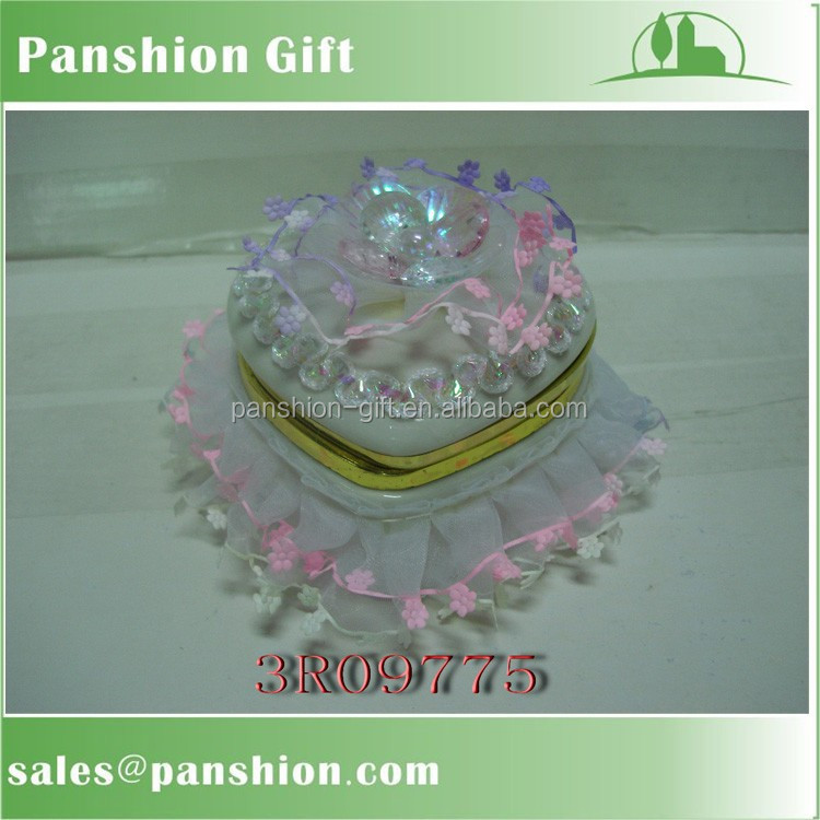 Wholesale decorative ceramic jewellery gift box