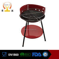 Simple kitchen commercial indoor charcoal antique cast iron bbq grill