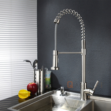 Hot Selling Brushed Nickel Brass Body Drinking Water Faucet Stainless Steel