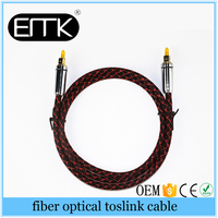 Digital Optical Optic PVC Fiber Toslink Audio Cord OD 6.0mm AV sound Cable Toslink Male to Male Lead Cord line