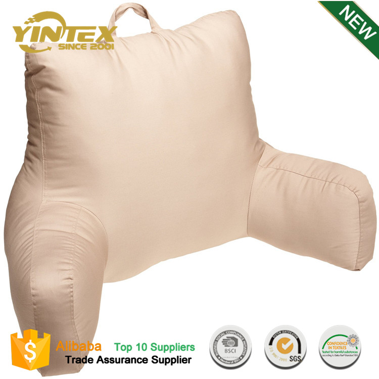 Ultra Plush Brushed Bed Rest Reading Pillow