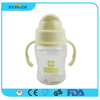 Plastic Baby Water Bottle with Straw and Handle 101801