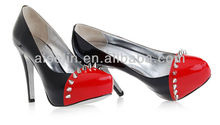 Charming high heel women spiked shoes factory price