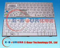 RU Laptop Keyboard for Fujitsu Siemens M1010 Mini Ui 3520 Notebook