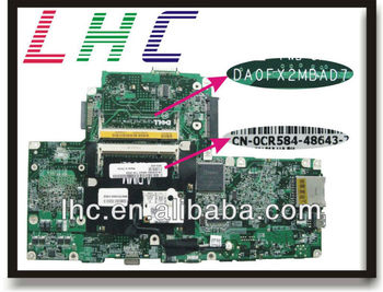 1501 motherboard for dell 1501 mainboard 0CR584 AMD DDR2 DA0FX2MBAD with 45 days warranty and high quality