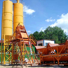 Best Selling Ready Mix 50m/h HZS50 Concrete Mixing Plant