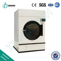 10kg xunduo high quality tumble industrial steam dryer for sale