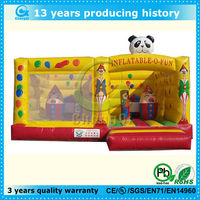 hot sale giant panda inflatable bouncers