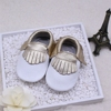 2015 New style wholesale cheap leather moccasin baby shoes