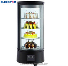 glass cooler Refrigerated Showcase,coutertop display,countertop showcase cooler,chiller,round cake showcase.cooling showcase