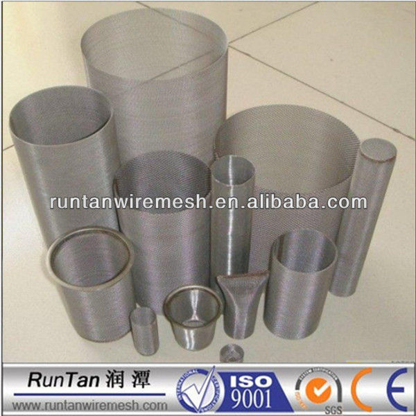 high quality stainless steel wire mesh filter tubes
